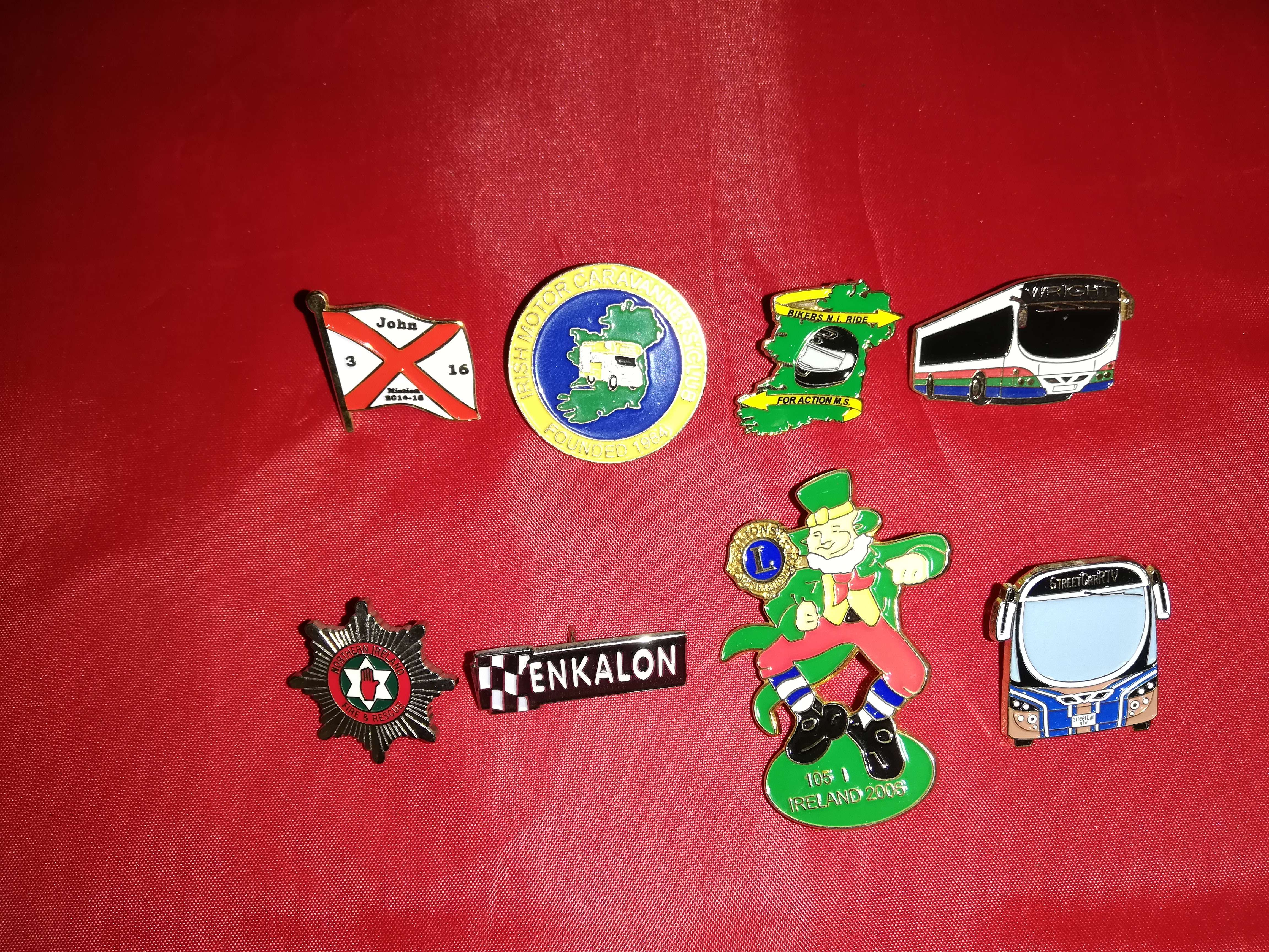 Lapel Badges - Banbridge Northern Ireland