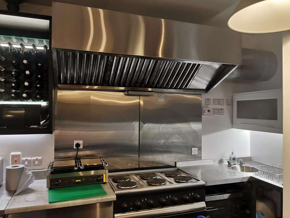 Kitchen Canopy Extractor Hood Supplier Dungannon Northern Ireland