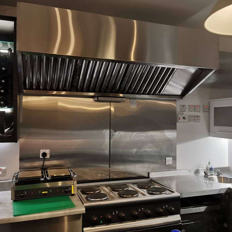 Kitchen Extractor Canopy Hood County Tyrone Northern Ireland
