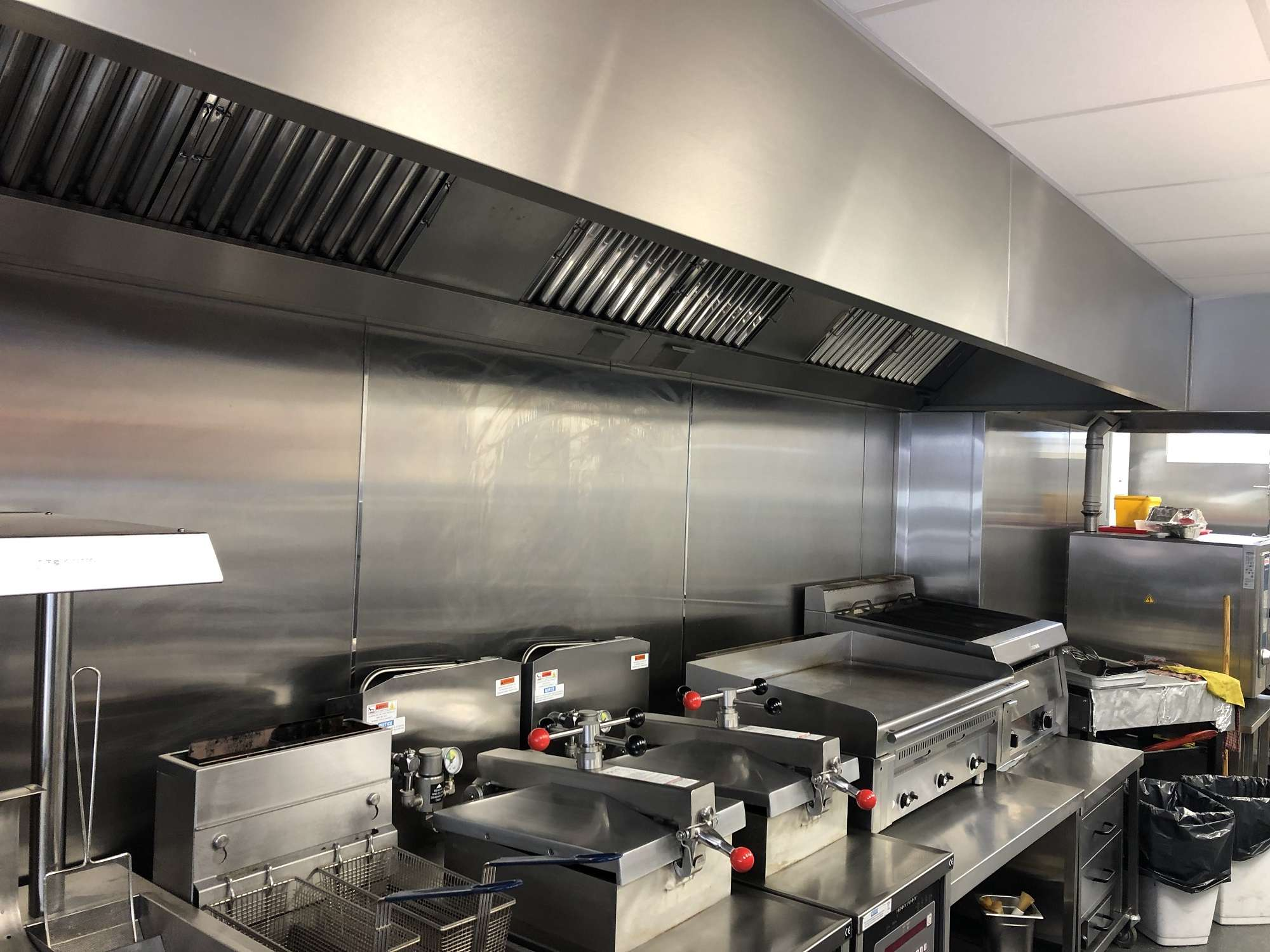 Kitchen Extractor Fan Canopy Hood Supplier Comber Northern Ireland