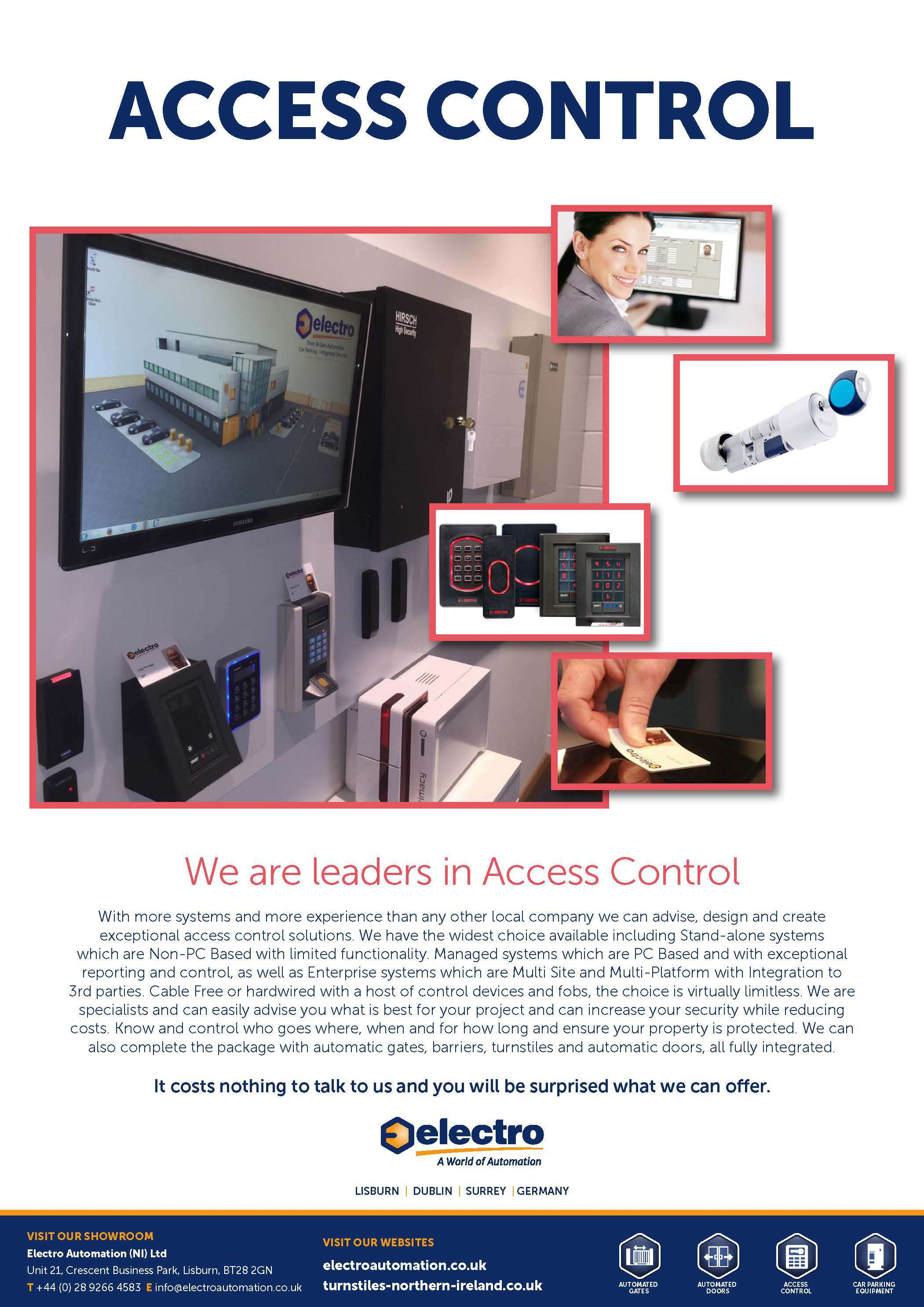 Access Control Newry Northern Ireland